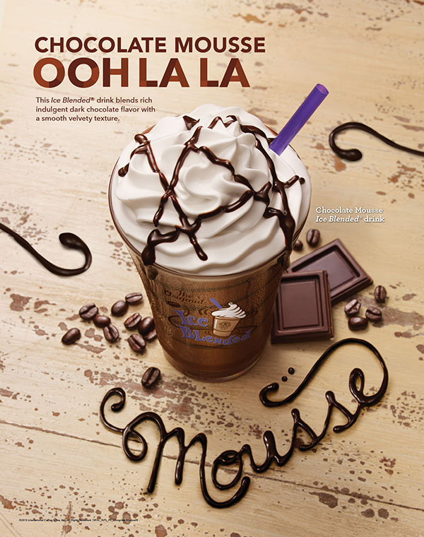 Coffee Bean & Tea Leaf. Poster - Fall Int'l 2015 Chocolate Mousse ...